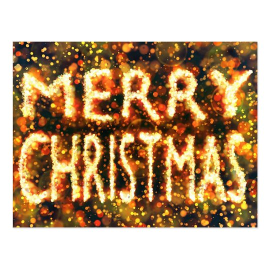 Postal Una única Merry Christmas card