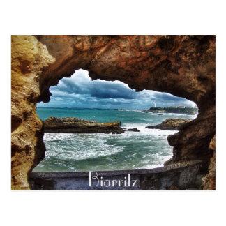 """Postal """"Una visión para recordar"""" - Biarritz"""