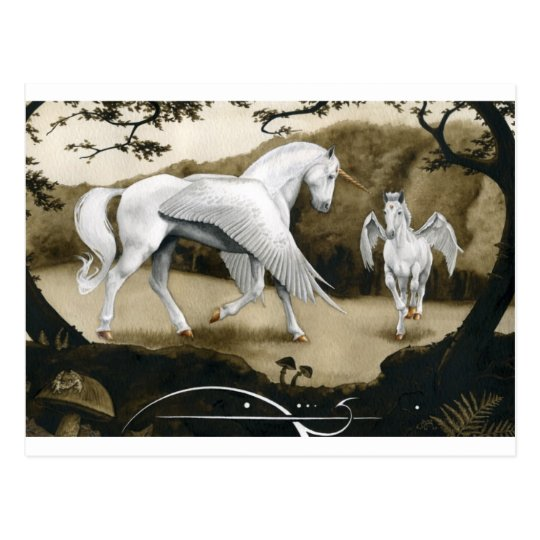 Postal Unicornios