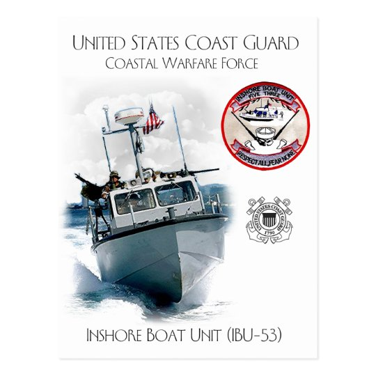 Postal Unidad costera IBU-53 del barco de USCG
