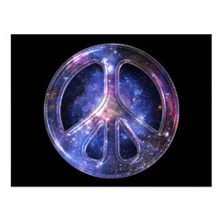 Postal universal de la paz