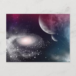 Postales Planetas Del Universo - Tarjetas postales | Zazzle.es