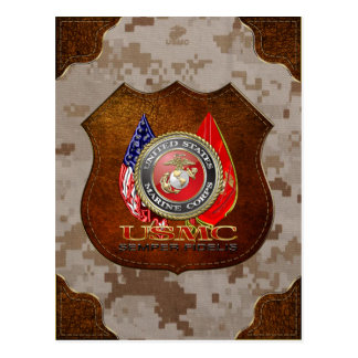 Postal USMC Semper Fi [edición especial] [3D]