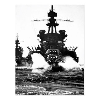Postal USS PENNSYLVANIA e imagen of_War del acorazado