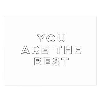 Postal Usted es el mejor