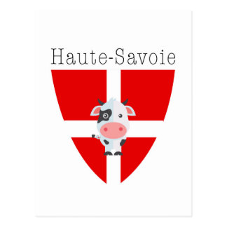 Postal Vaca de Haute-Saboya