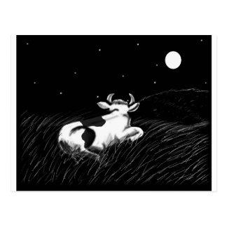 Postal Vaca de medianoche