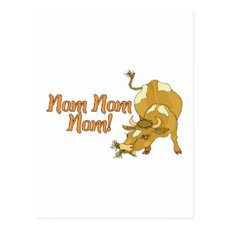 Postal Vaca de Nom Nom