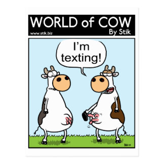 Postal Vaca de Texting
