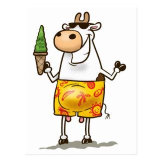 Postal Vaca del verano