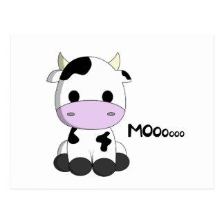 Postal Vaca linda