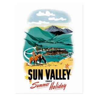 Postal Vacaciones de verano de Sun Valley