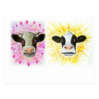 Postal Vacas locas