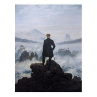 Postal Vagabundo sobre el mar de la niebla