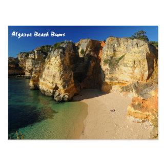 Postal Vagos de la playa de Algarve