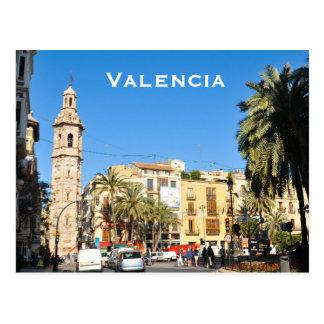 Postal Valencia en Catalunia, España