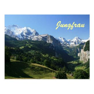 Postal Valle de Jungfrau