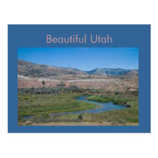 Postal Valle de la corriente de Utah del Zephyr de