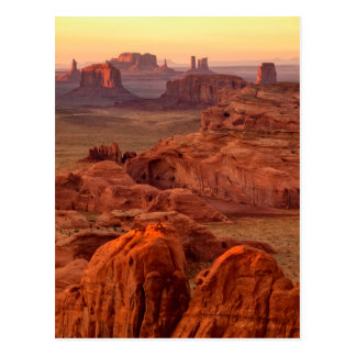 Postal Valle escénico, Arizona del monumento