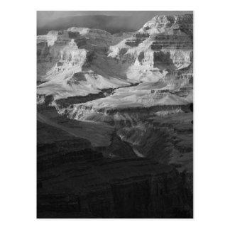 Postal Valores del parque nacional del Gran Cañón