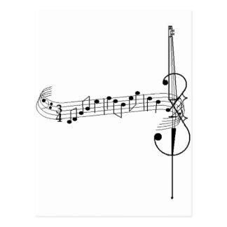 Postal Vals del violoncelo