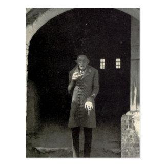 Postal Vampiro de Nosferatu