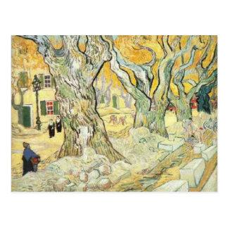 Postal Van Gogh los componedores de camino
