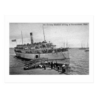 Postal Vapor Dorothy Bradford, Provincetown,