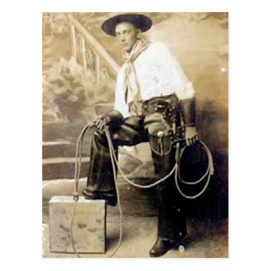 Postal Vaqueros 20 del vintage