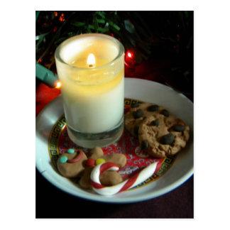 Postal Vela III de la galleta del navidad