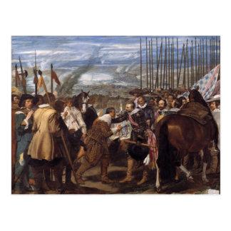 Postal Velázquez- Surrenderof Breda