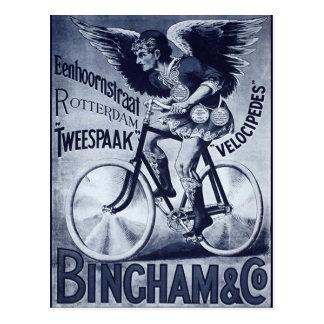 Postal Velocípedos de Bingham y del Co.
