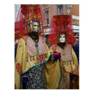 Postal Venecia Carnivale