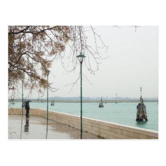 Postal Venecia Laguna