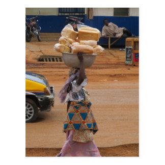 Postal Venta del pan en Ghana