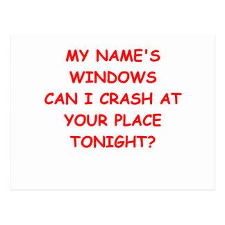Postal ventanas