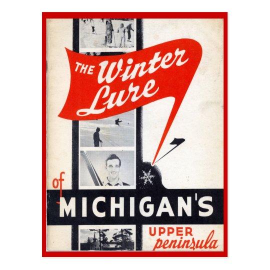 Postal Ventas del vintage, Michigans, península superior