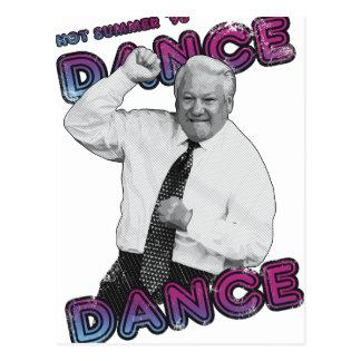 Postal Verano caliente 1996 de la danza de la danza de