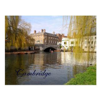 Postal Verano en Cambridge