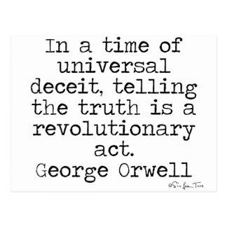 Postal Verdad de Orwell