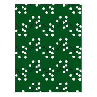 Postal verde oriental de la baya
