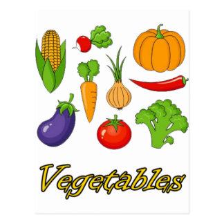Postal verduras