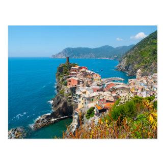Postal Vernazza Cinque Terre Italia