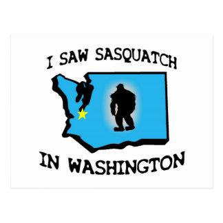 Postal Vi Sasquatch en Washington