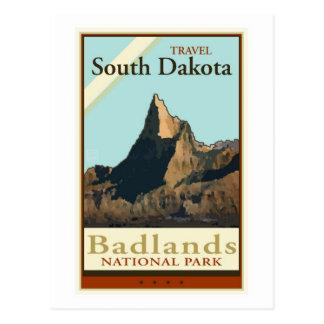 Postal Viaje Dakota del Sur