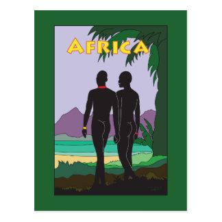 Postal Viaje de África