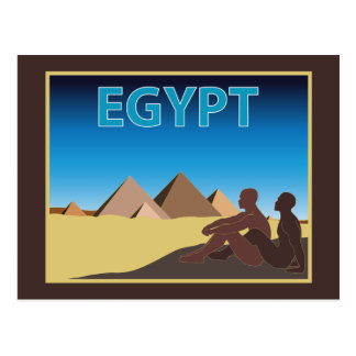 Postal Viaje de Egipto