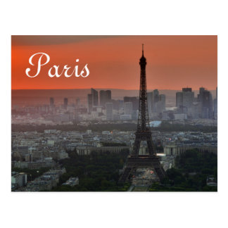 Postal Viaje de París Europa de la torre Eiffel