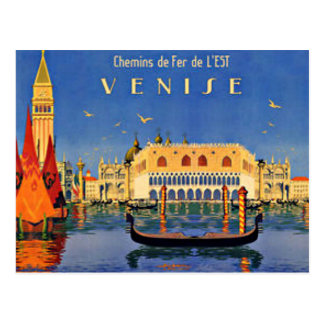 Postal Viaje de Venecia