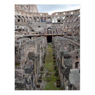 Postal Viaje del Colosseo romano